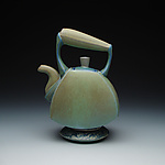 Ceramic Teapot by Frank Saliani