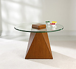 Wood Coffee Table by Ken Reinhard