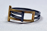 Gold & Silver Ring by Hilary Hachey