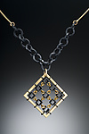 Gold & Silver Necklace by Hilary Hachey