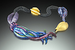 Enameled Necklace by Shana Kroiz