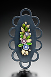 Enameled Brooch by Giselle Kolb
