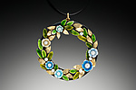 Enameled Necklace by Giselle Kolb