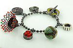 Mixed-Media Bracelet by Lauren Schlossberg