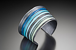 Silver & Resin Bracelet by Lisa  Cimino