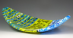 Art Glass Tray by Pamela Rice
