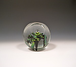 Art Glass Paperweight by Benjamin Silver