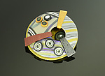 Polymer Clay Brooch by Arden Bardol