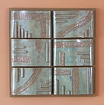 Ceramic Wall Art by Ken Drolet