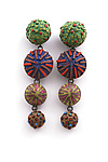 Polymer Clay Earrings by David Forlano