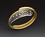 Gold & Silver Ring by Peg Fetter