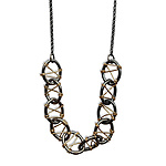 Gold & Silver Necklace by Alice Roche