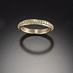 Gold Wedding Band by Ananda Khalsa