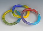 Art Glass Bracelet by Carol Martin