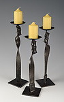 Metal Candleholders by Rob Caperell