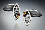 Silver & Stone Earrings by Kristen Lee