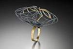 Gold & Silver Ring by Beverly Tadeu