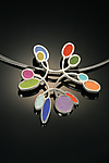Polymer Clay Necklace by Lou Ann Townsend