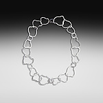 Silver Necklace by Suzanne Q Evon