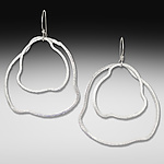 Silver Earrings by Suzanne Q Evon