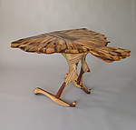 Wood Sculpture by Charles Adams