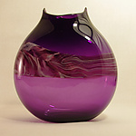 Art Glass Vase by Corey Silverman