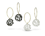 Gold & Silver Earrings by Beverly Tadeu