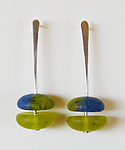 Art Glass Earrings by Carol Martin