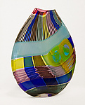 Art Glass Vase by Jeffrey P'an