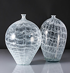 Art Glass Vase by Carrie Battista