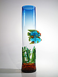 Art Glass Vessel by David Leppla