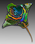 Art Glass Wall Art by Karen Ehart