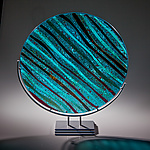 Art Glass Sculpture by Varda Avnisan