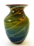 Art Glass Vase by Justin Tarducci