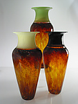 Art Glass Vase by David Leppla