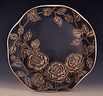 Ceramic Platter by Sara Meehan