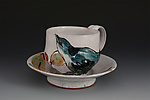 Ceramic Cup and Saucer by Eileen de Rosas